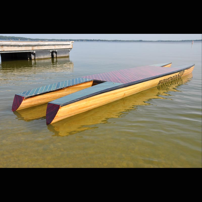 picture of a supCAT out on the water